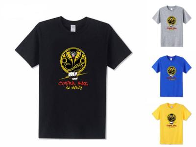 Camiseta Unisex Cobra Kai No Mercy