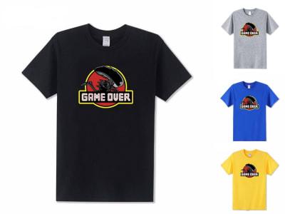 Camiseta Unisex Alien Game Over