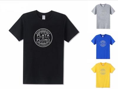 Camiseta Unisex Plata o Plomo