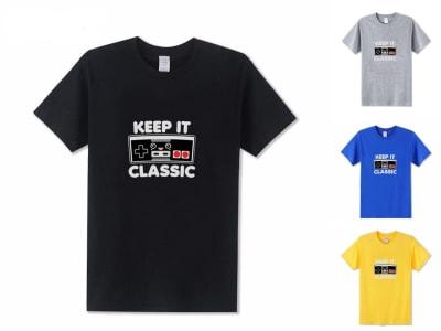 Camiseta Unisex Keep It Classic