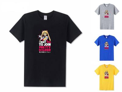 Camiseta Unisex Pretty Soldier Sailor Moon