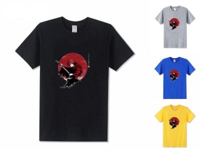 Camiseta Unisex Kenshin Rurouni Samurai Anime