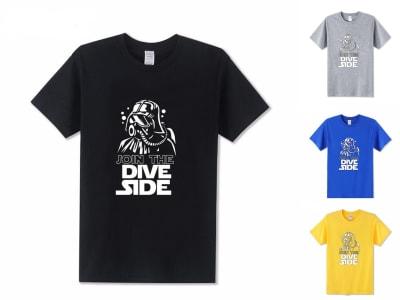 Camiseta Unisex Star War Join the Dive Side
