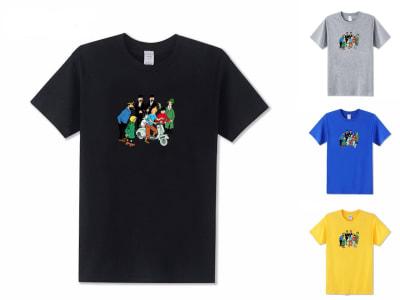 Camiseta Unisex Tintín