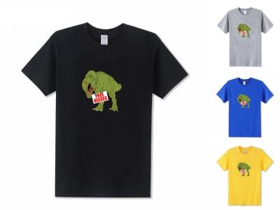 Camiseta Unisex Free kisses Dinosaur