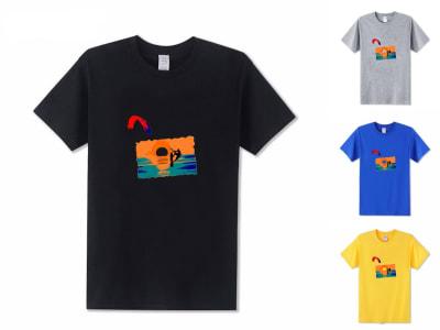 Camiseta Unisex Kite Surf