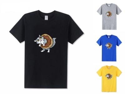 Camiseta Unisex Kitty Sweet Donut