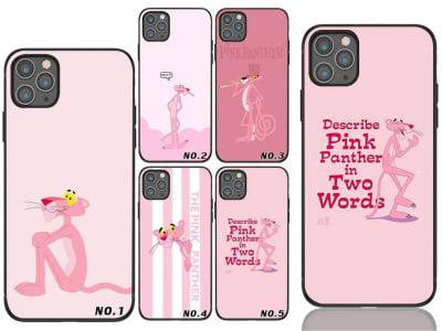 Funda iPhone TPU Pantera Rosa