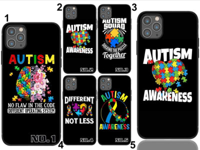 Funda Samsung TPU Rompecabezas de Concienciación sobre el Autismo