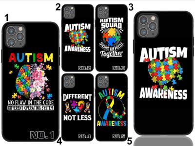 TPU Funda Huawei Rompecabezas de concienciación sobre el autismo