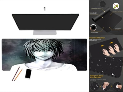 Game Pad XXL Profesional e-Sport Death Note