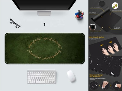 Game Pad XXL Profesional e-Sport Lord of the Rings