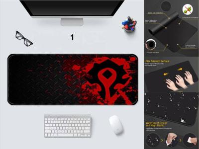 Game Pad XXL Profesional e-Sport World Of Warcraft