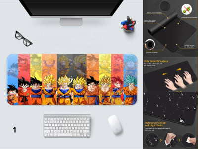 Game Pad XXL Profesional e-Sport Dragon Ball Z