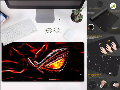 Game Pad XXL Profesional e-Sport ROG republic of Gamers