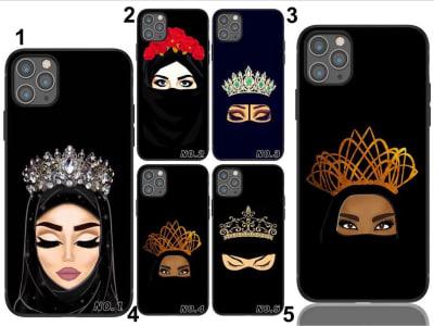 Funda iPhone TPU Princesa Musulmana