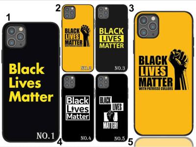 Funda iPhone TPU Black Lives Matter