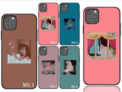 Funda iPhone TPU Princesas Disney