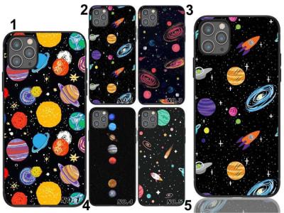 Funda iPhone TPU Planetas