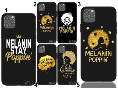 Funda iPhone TPU Melanin poppin