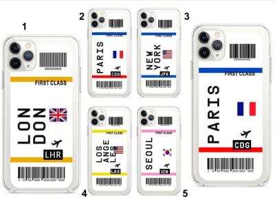 Funda iPhone TPU Tarjetas de Embarque