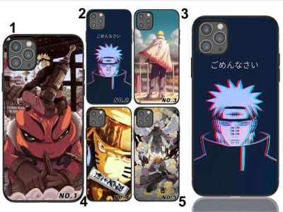 Funda iPhone TPU Naruto