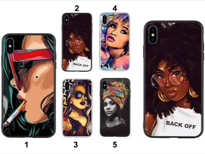 Funda iPhone TPU Mujeres Africanas