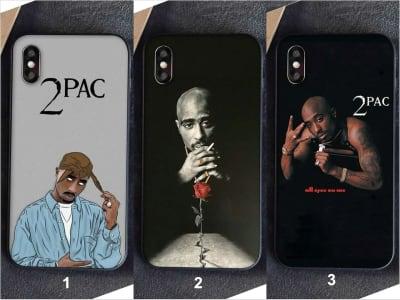 Funda iPhone TPU 2Pac