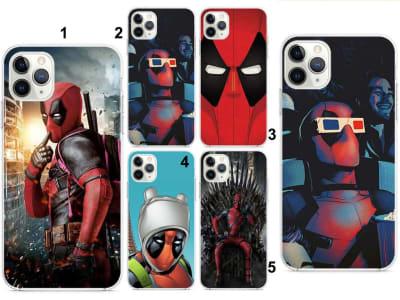 Funda iPhone TPU Deadpool