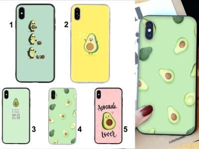 Funda iPhone TPU Avocado