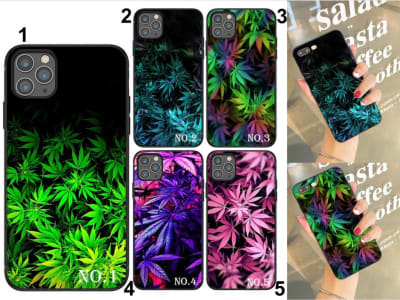 Funda Samsung TPU Marihuana