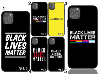 Funda Samsung TPU Black Lives Matter