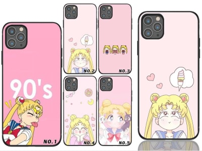 Funda Samsung TPU Pink Sailor Moon