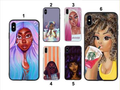 Funda Samsung TPU Mujeres Africanas
