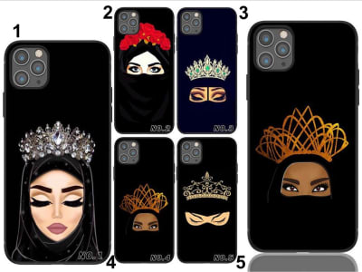 Funda Huawei TPU Princesa Musulmana