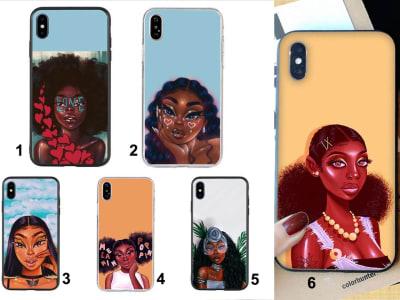 Funda Huawei TPU Mujer Negra