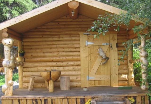 Shared Bath Cabins - Cabin #A,#B,#C,#D