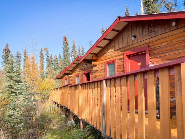 Moose Cabins Queen Bed