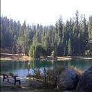 One of a variety of lakes inside Sequoia Park