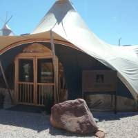 Zion Under Canvas Lobby - Check In