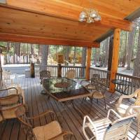 Covered Deck with Furniture