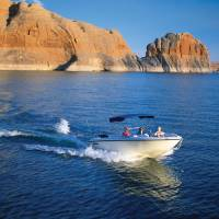 Lake Powell power boat