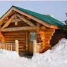 hibernation snow cabin