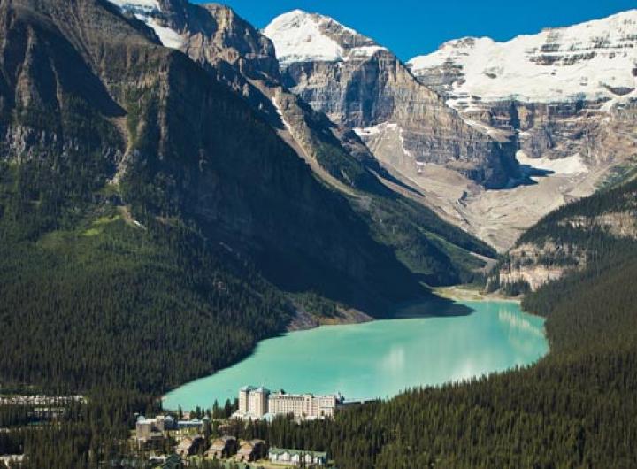 Fairmont Chateau Lake Louise Banff National Park