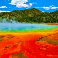 Famous Grand Prismatic Spring