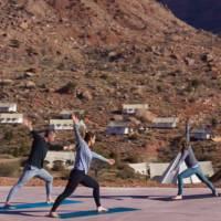 Under Canvas Zion Yoga