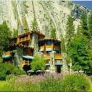 The ahwahnee Hotel is the premier lodge inside Yosemite Park, located on the valley floor