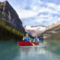 Fairmont Chateau Lake Louise Canoeing