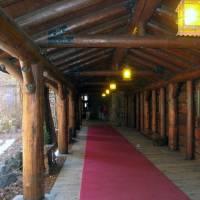 Ahwahnee Hotel Entrance