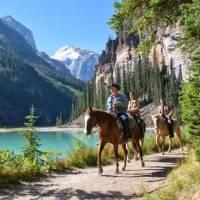Fairmont Chateau Lake Louise Horseback Riding